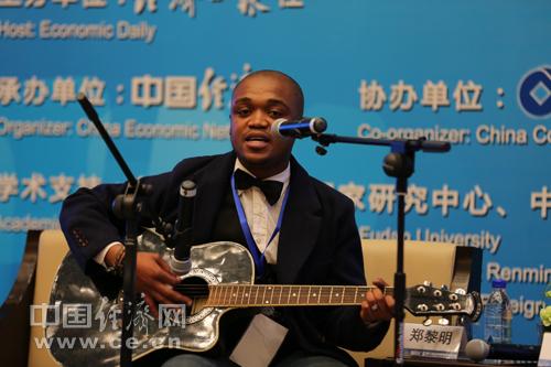南非青年代表现场演唱