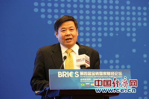 财政部副部长朱光耀致辞